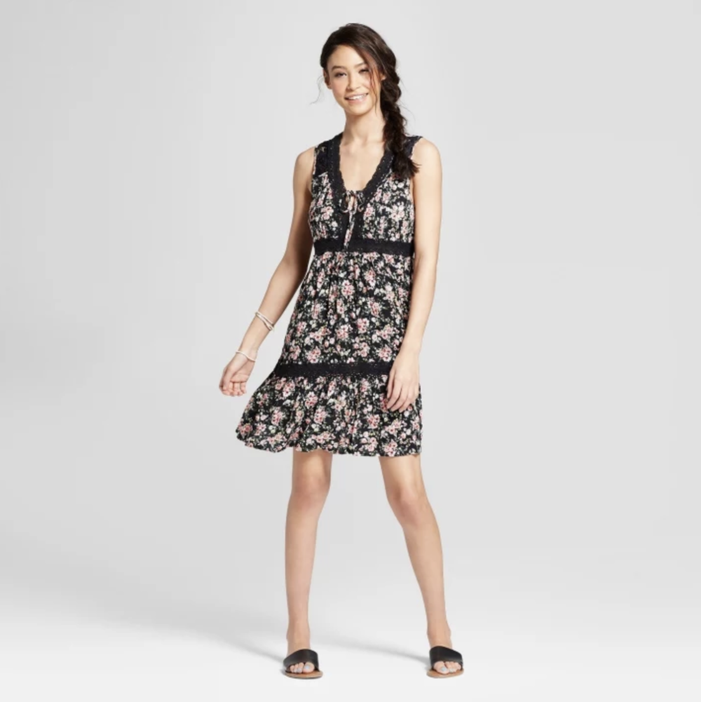"The Drop Waist - With this fun and flirty drop-waisted dress, you too can give off a summer vibe that says, ""Hey, you wanna meet downtown? Harlem's a little far for me."""