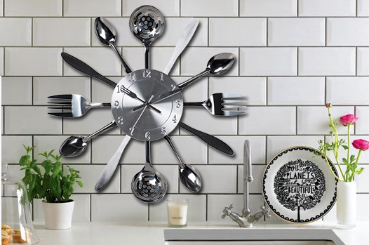 Utensils Wall Clock