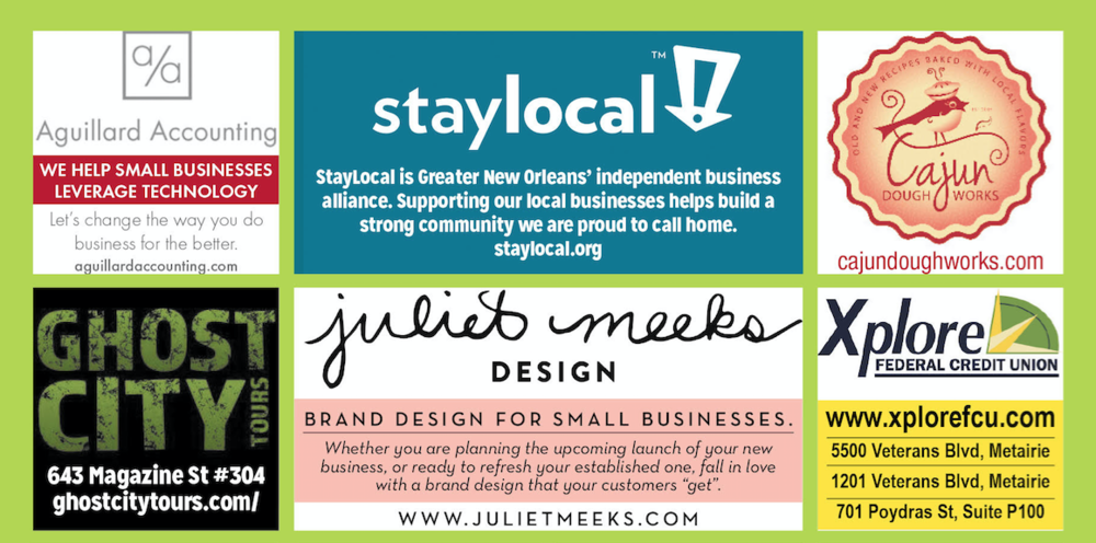 Mock-up of StayLocal group ad