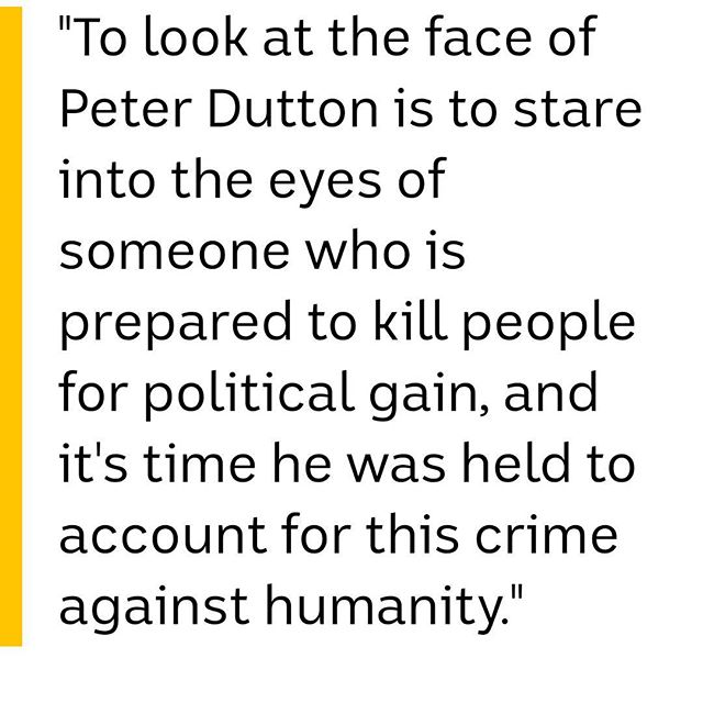 Fucking disgusted to be an Australian right now. No person is illegal. #Cuntservatives Apathy towards our fellow man is what creates terrorism. Lack of love and justice breeds anger. This is not how you stop terrorost ot is how it breeds (oh plus add some relgious/ spiritual delusions)