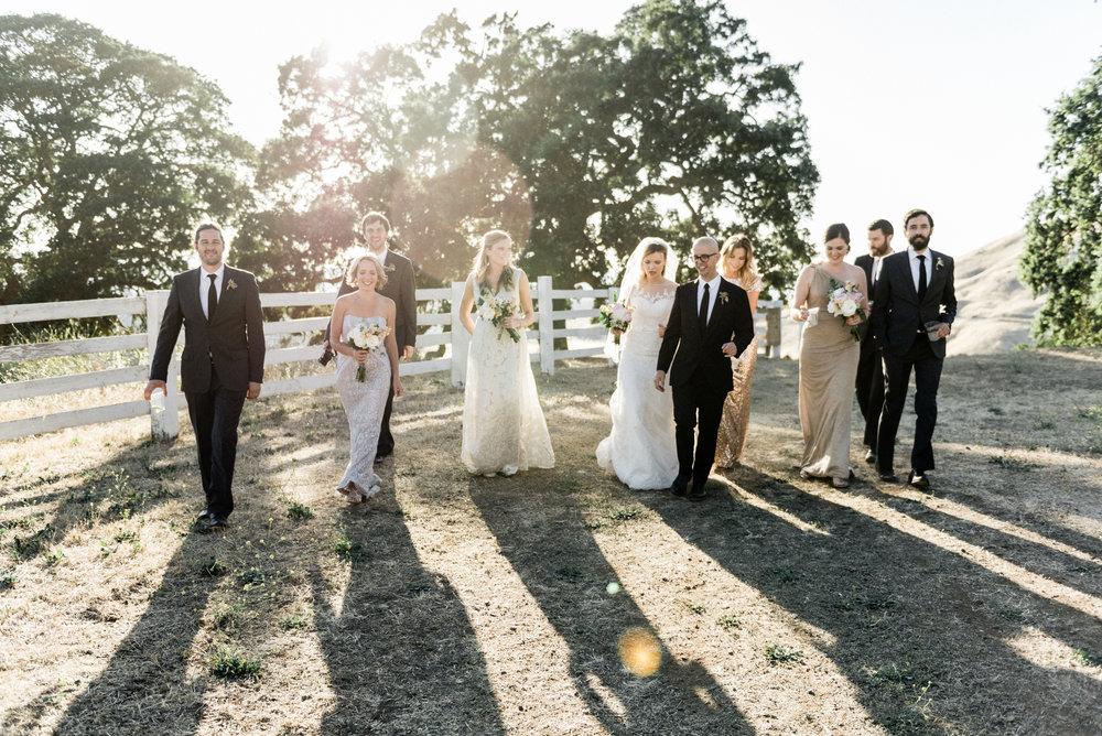 Wedding+party+California+wedding