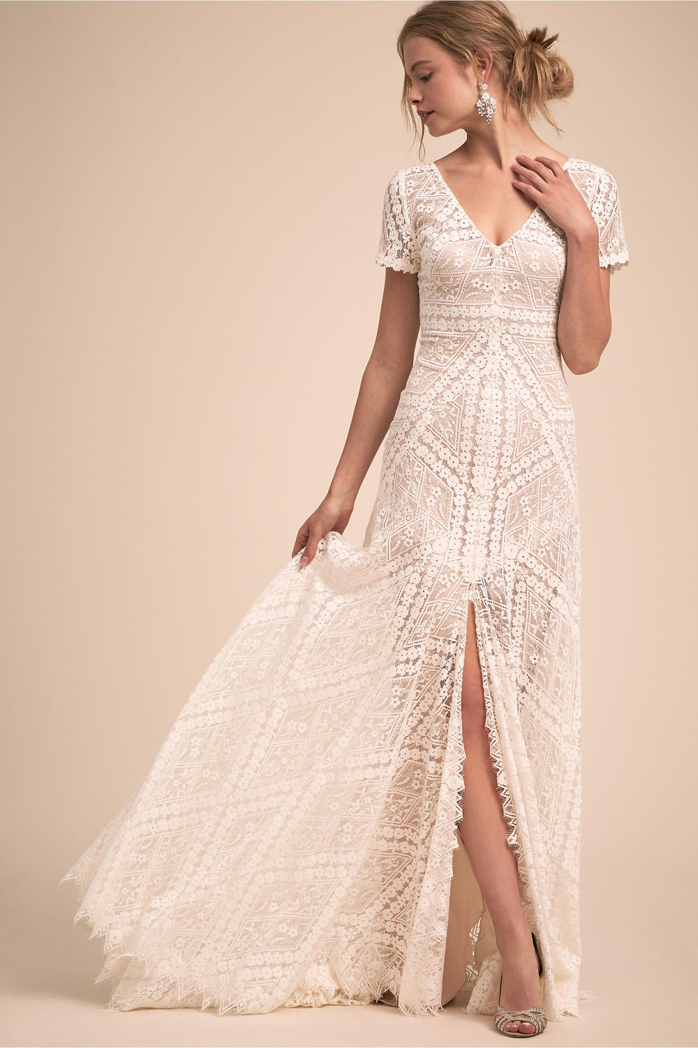 Watters Clements Gown, $1,270,  BHLDN