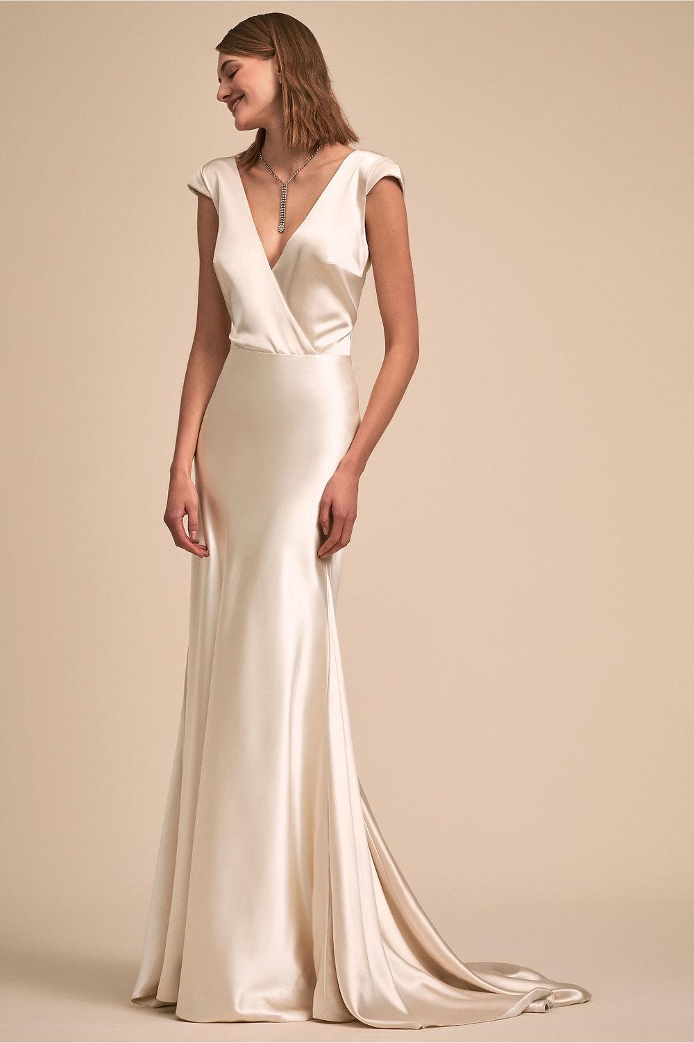 Nevis gown, $2,830, Johanna Johnson,  BHLDN