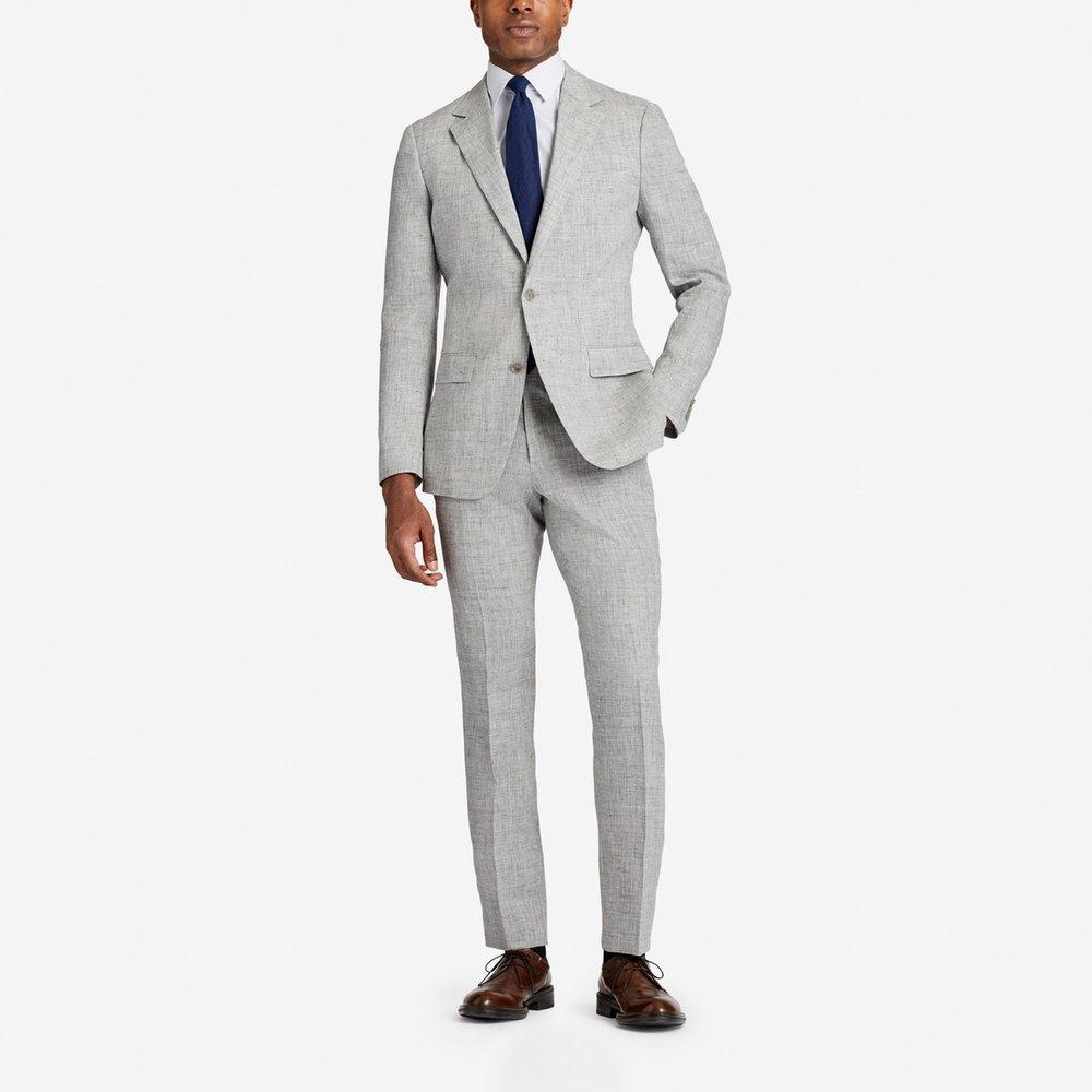 Lightweight Italian Linen Suit, $750,  Bonobos