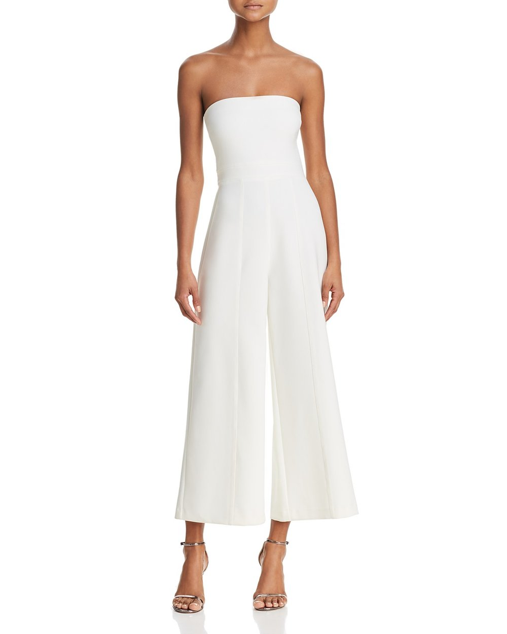 Isla Strapless jumpsuit, $248, Likely,  Bloomingdales