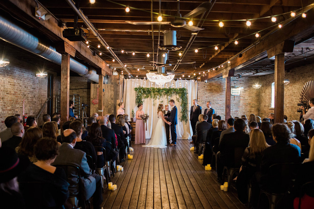 Jill & Doug:  These college sweethearts discuss getting married this past February in the midst of a Chicago snowstorm.  Read More.