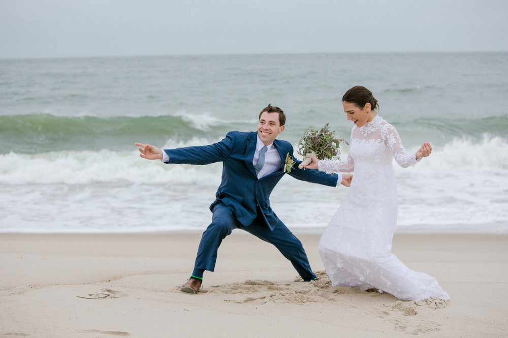 Kate & Paul - Bethany Beach, DEVenue: Indian River Lifesaving StationPhotographer: Hayman Photography