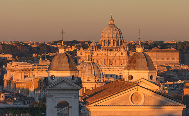 Rome, Italy  Rome is one of the top five city breaks you could fly to by private jet