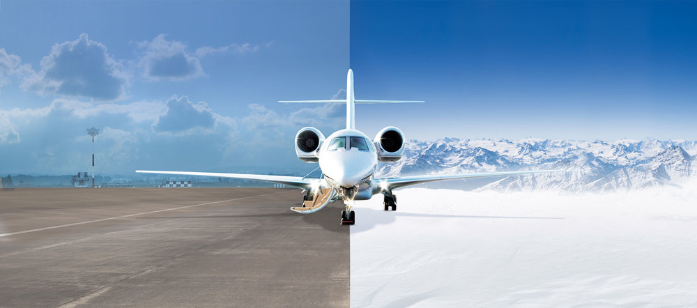 The best private jet airports for ski resorts. - View more >