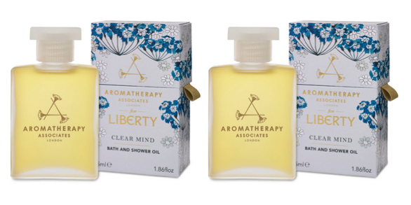 Aromatherapy Associates for Liberty Clear Mind Bath & Shower Oil