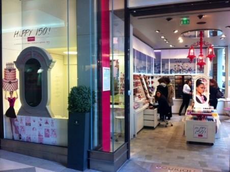 Bourjois Shop Entrance