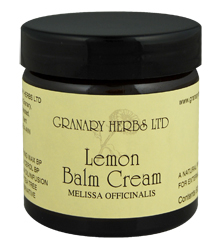 Lemon Balm Cream