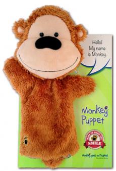 Monkey Gloe Puppet