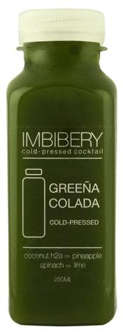 Imbibery Greena Colada