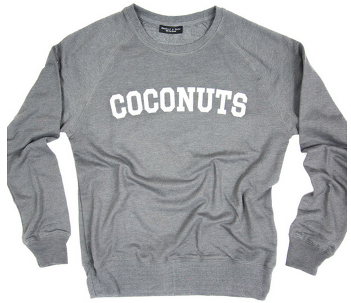 coconut jumper
