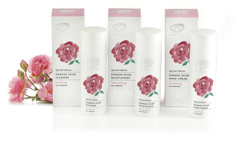 Win Divine Damask Rose Skincare From Green People Beauty Bible