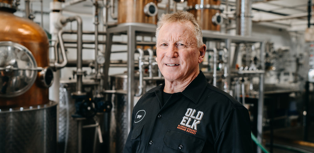 GREG METZE - Master DistillerGreg Metze became Old Elk Distillery's Master Distiller following a 38-year career at Seagram's Distillery in Lawrenceburg, Indiana, one of the world's largest distilleries.