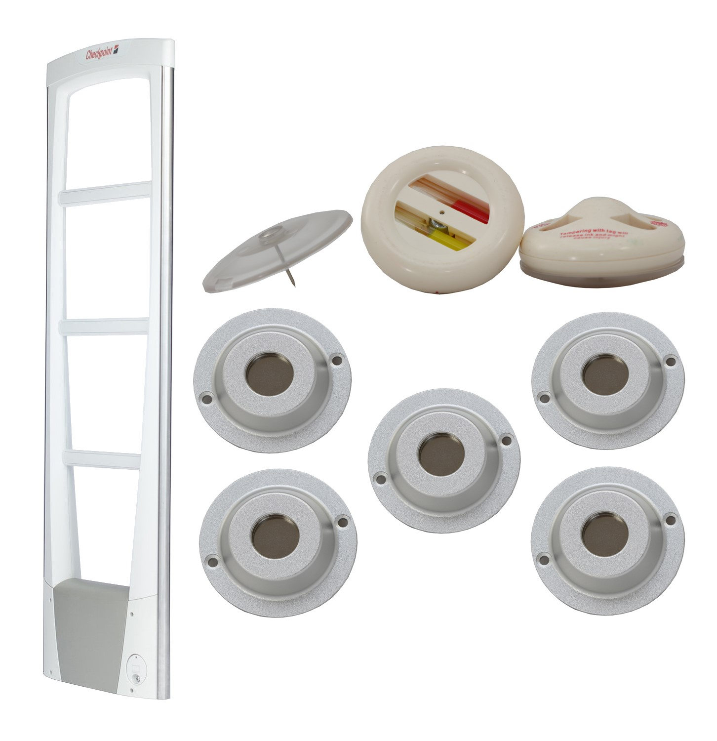 3 Foot Door Retail Security Tag Package - CQP1203E
