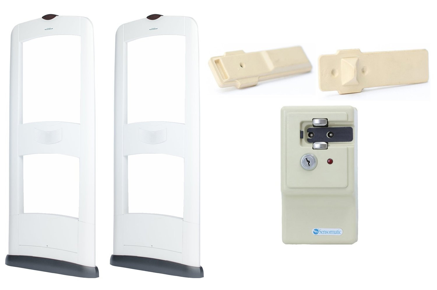 8 Foot Door Retail Security Tag Package - SQP2122E-8