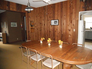 Hickory Hill Retreat House Dining Room