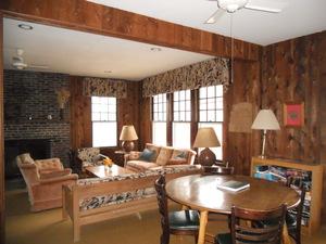 Hickory Hill Retreat House Living Room