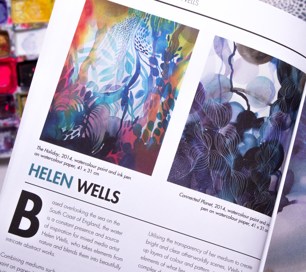 Helen Wells Inside artists magazine