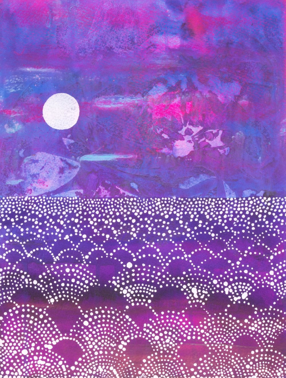 The Purple Sea by Helen Wells