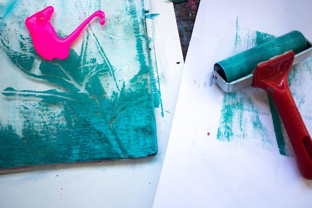 Helen Wells Printing Experiment