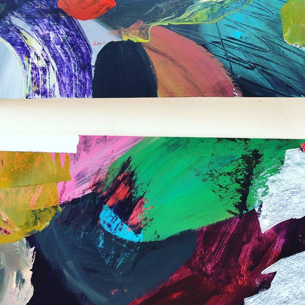 Helen Wells abstract art