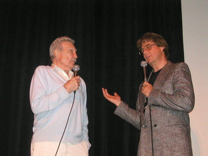 "Warren Stevens (""Forbidden Planet"") and Jay Duncan discuss MGM's first big budget Science Fiction film on the occasion of it's 50th Anniversary during the 3rd annual   ""IT! Came From The '50s""   Film Festival (Saturday, May 27, 2006)."