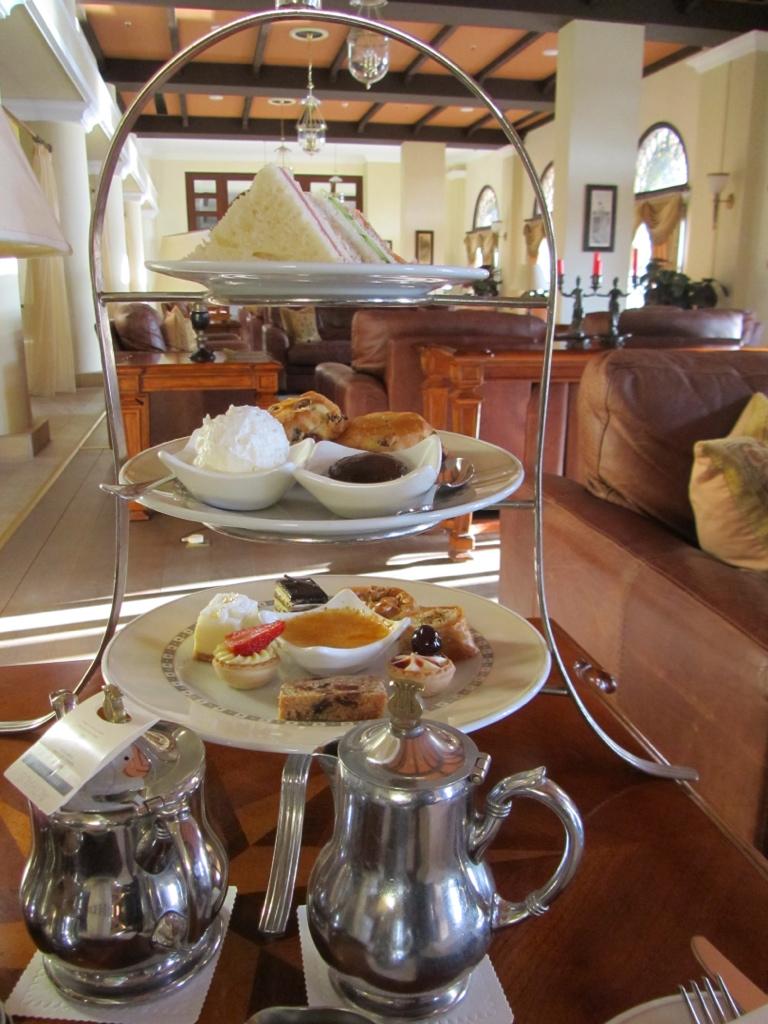 High tea in Phapos, Cyprus