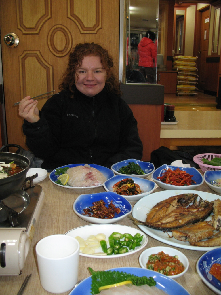 Fresh, fresh fish in Busan, South Korea