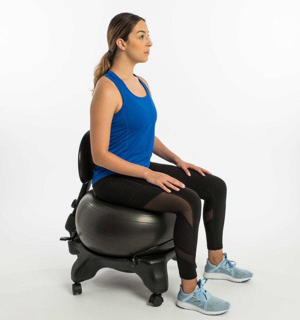 Shop Active Sitting - Protect your spine with innovative ball chairs. They provide better posture, increased stability and a stronger balance. Care for your spine.