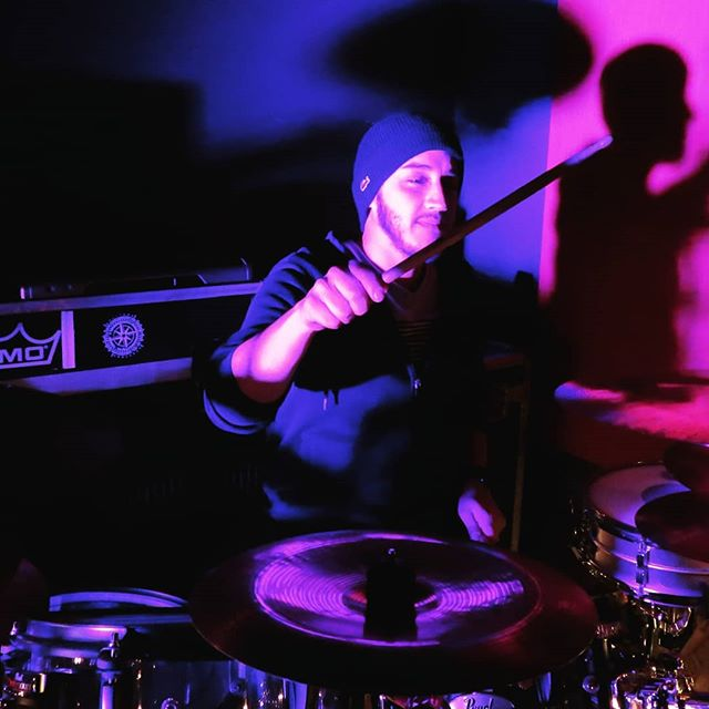 Dr. Donnie  #solitudeendeavor #alternative #rock #drummer #pearl #promark