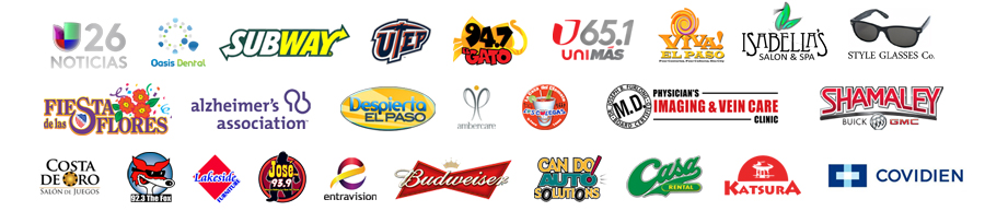Brands who have featured our work.