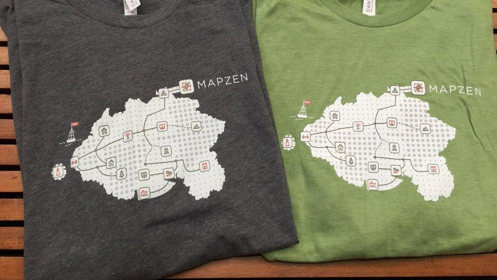 Null Island t-shirt design 2016