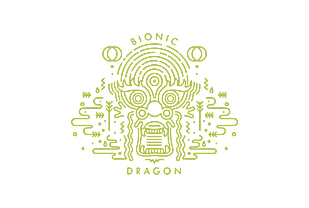 BIONIC DRAGON    BEER CAN DESIGN