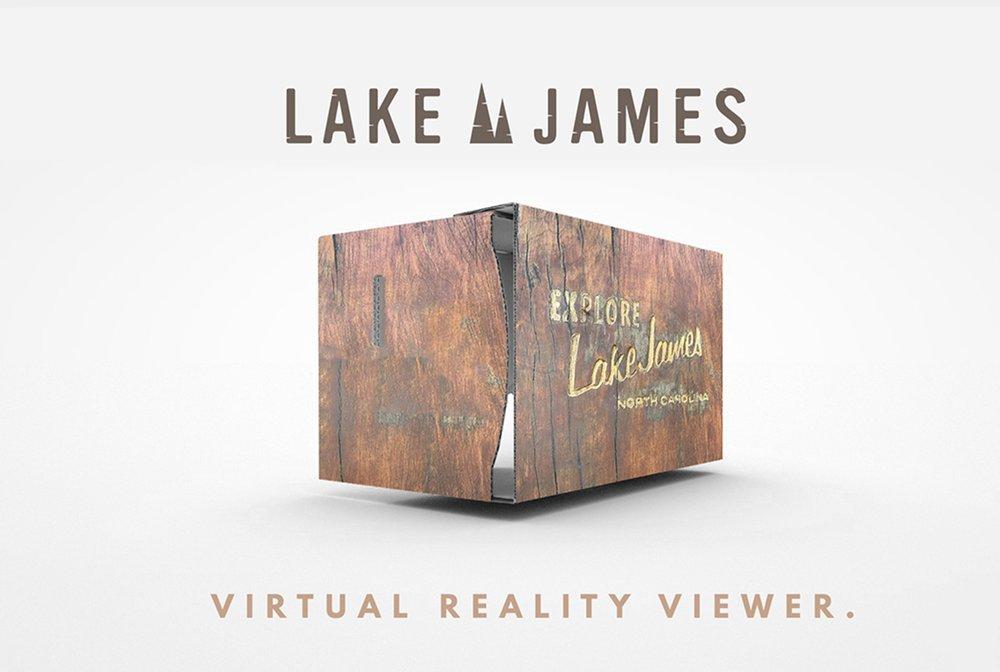 LAKE JAMES    VR ADVERTISING