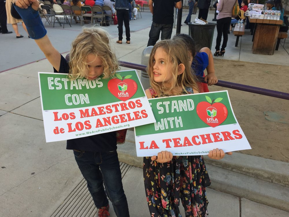 Slow your roll… - & Support Los Angeles Teachers!