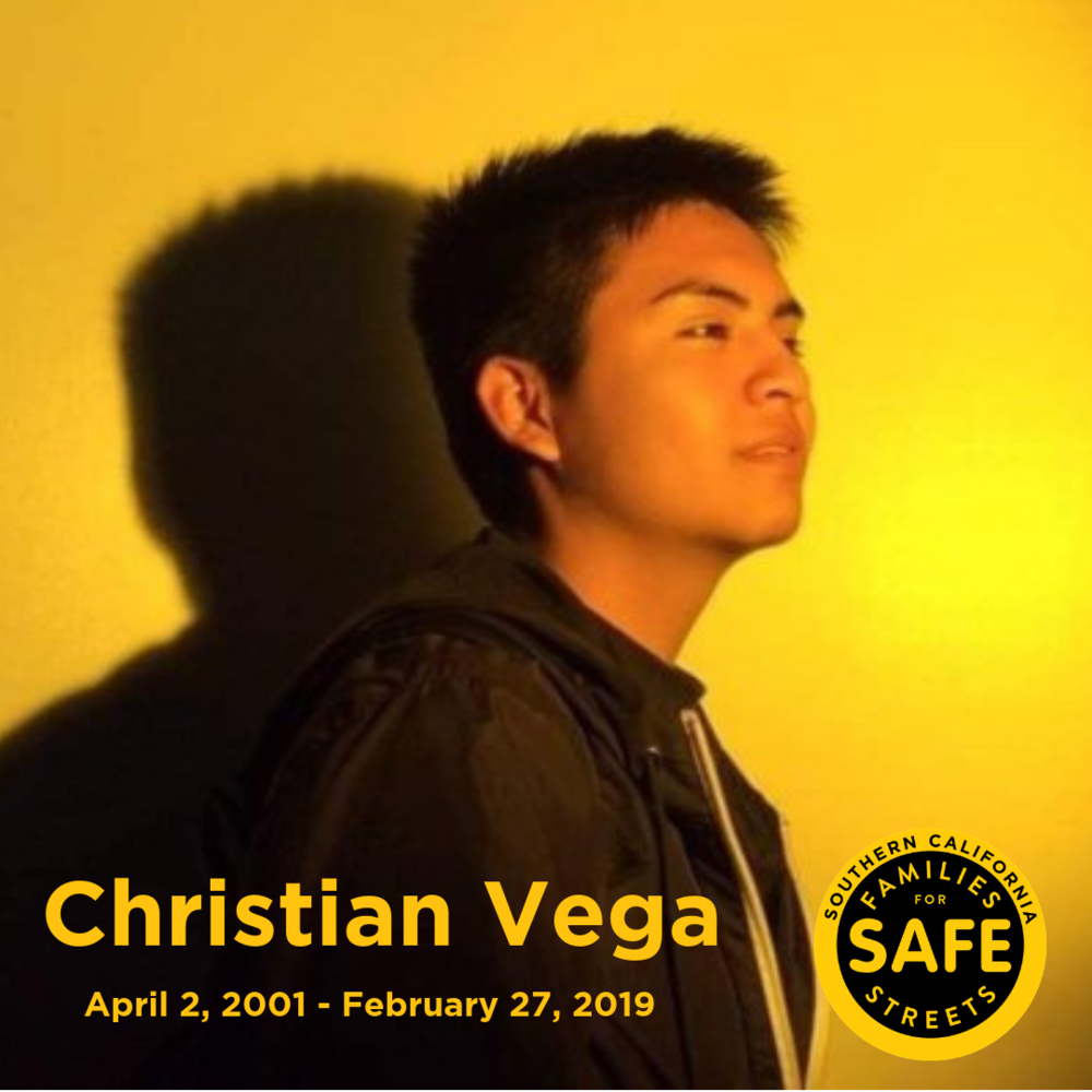 Elysian Valley honors the life of Christian Vega.