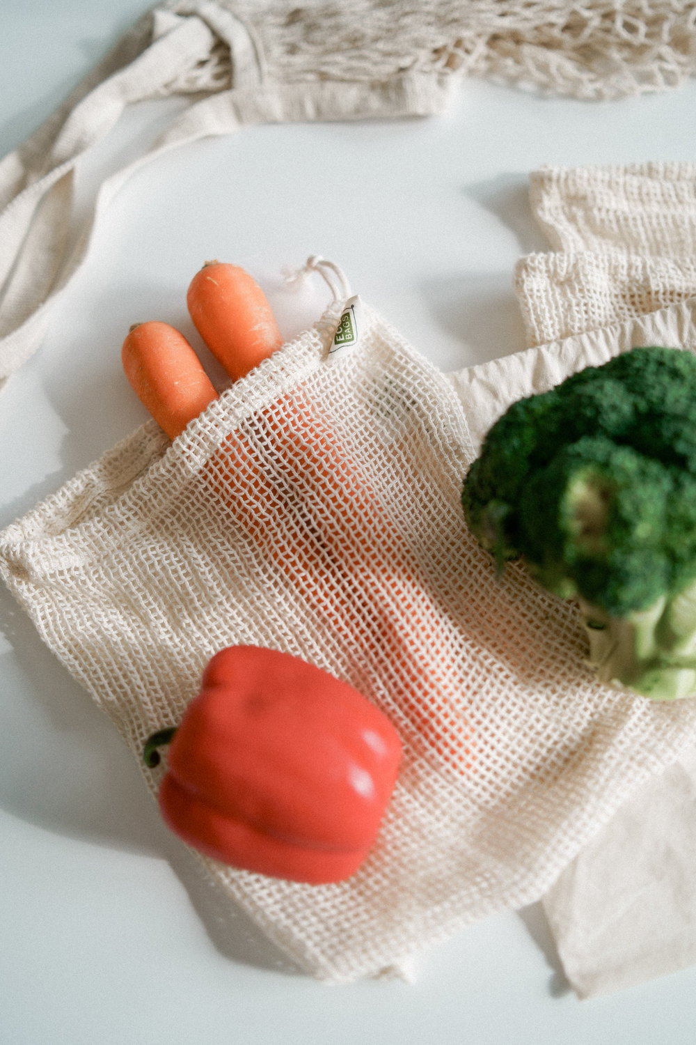 2. Stop using plastic produce bags -