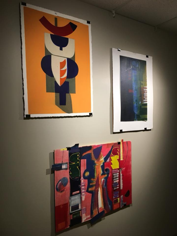 The artwork of Roy Crosse, presented by Anelda Peters.