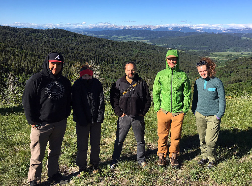 The Landscapes in Motion Fire Regime Field Crew of 2018 will be visiting sites in Alberta's southern Rockies to collect tree-ring and vegetation structure information.