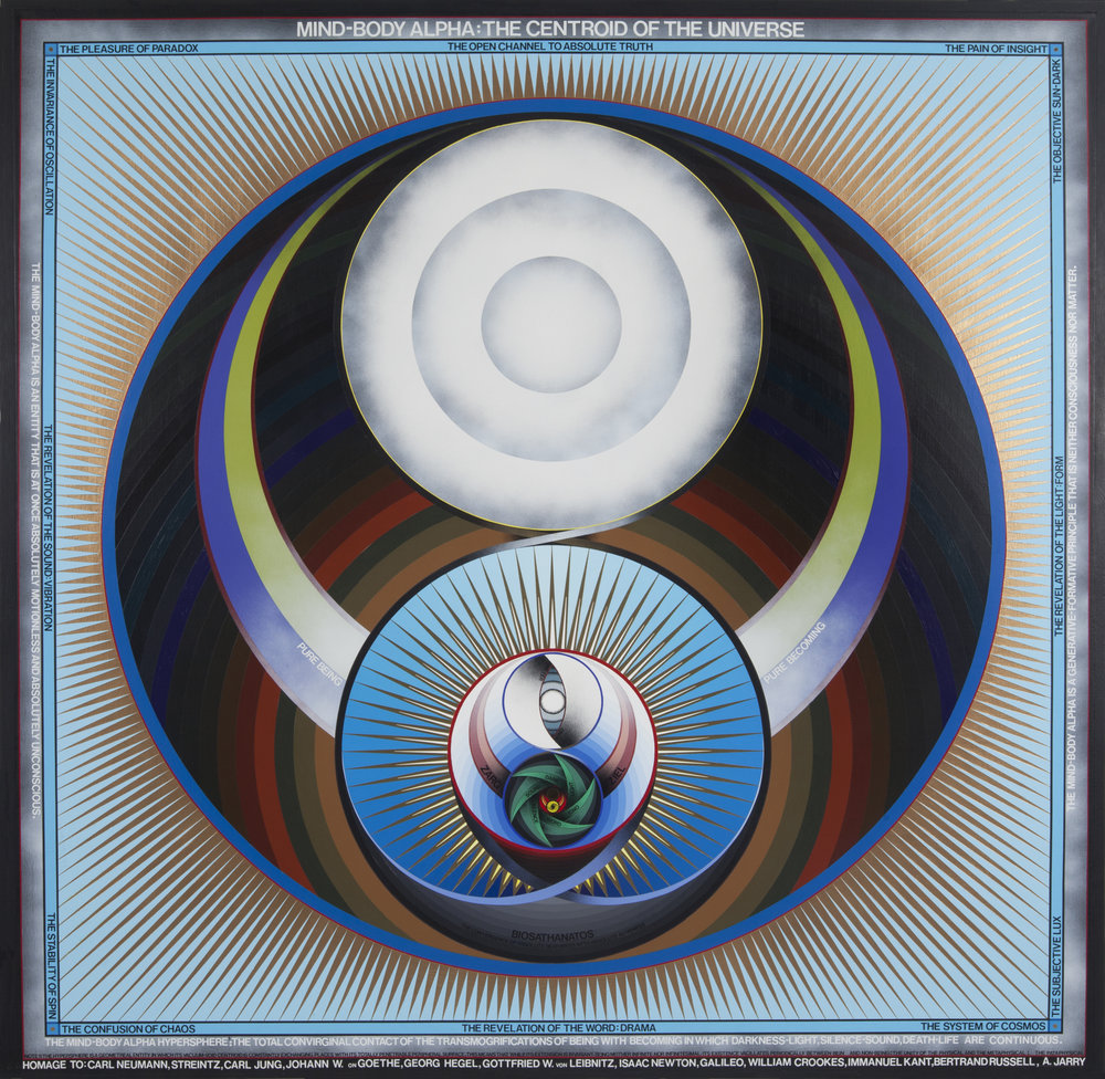 Paul Laffoley: The Boston Visionary Cell  - January 18, 2013 | The New York Times | Ken Johnson