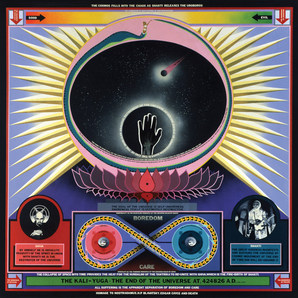 A Beautiful Mind: Paul Laffoley has some unusual ideas about science and philosophy. And he puts them on canvas. - February 11, 2007 | Boston Globe | Ken Johnson