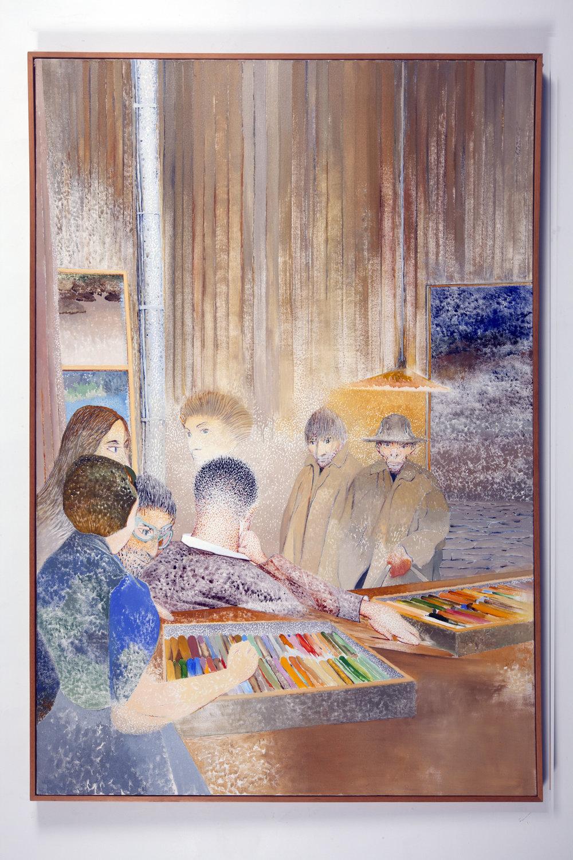 Notes on Pastel - 2012 | Kent Fine Art | Irving Petlin