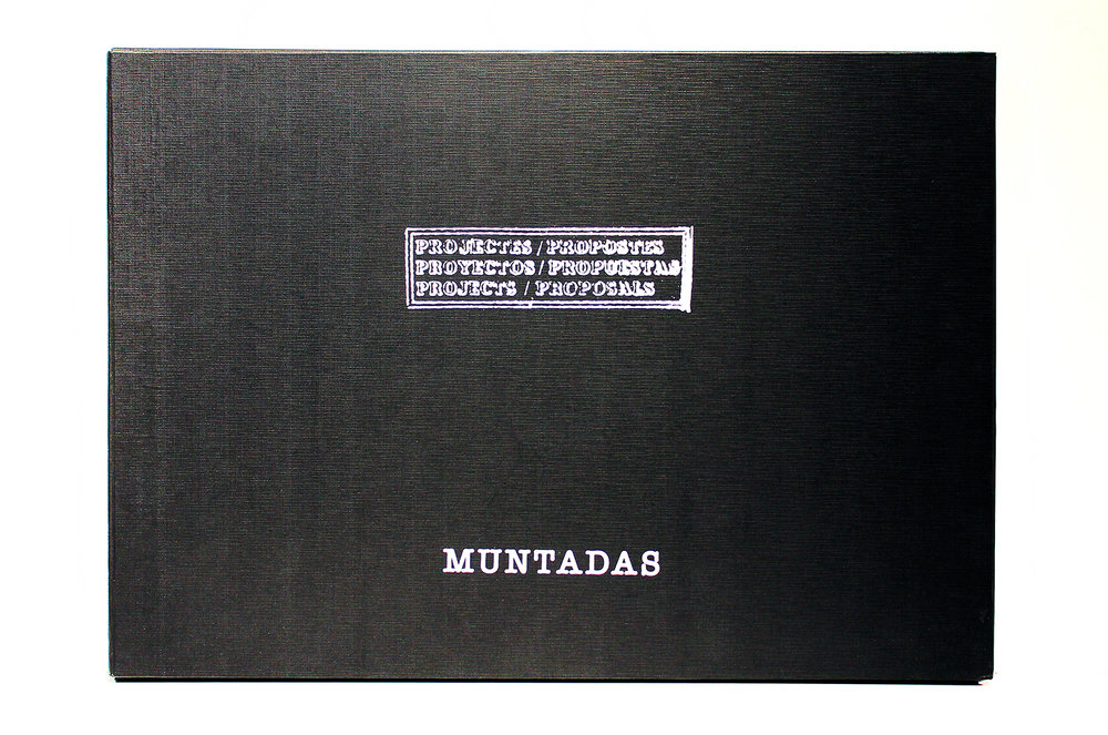 Muntadas: Projects / Proposals - Folio of Limited Edition Screenprints