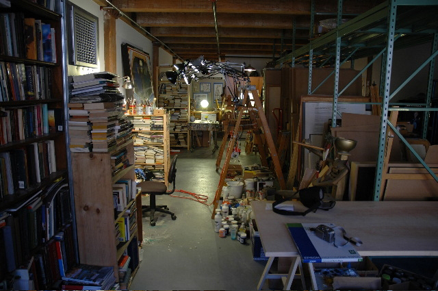 Portrait of the Artist Studio by Elyse Harary, 2015