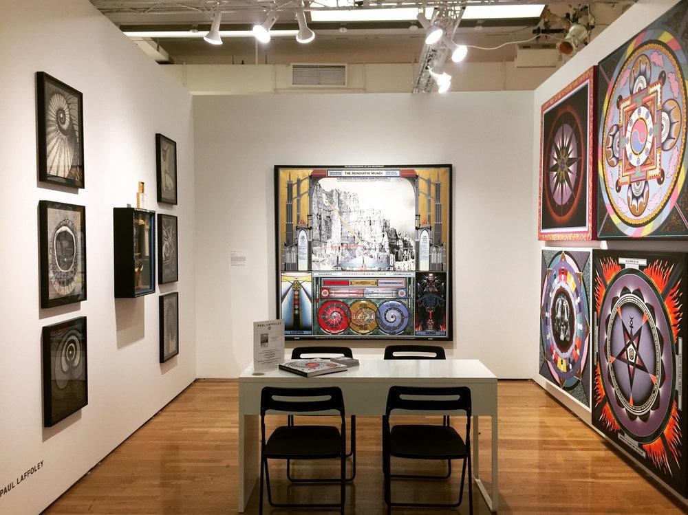 2016, Outsider Art Fair, Paul Laffoley Memorial Exhibition