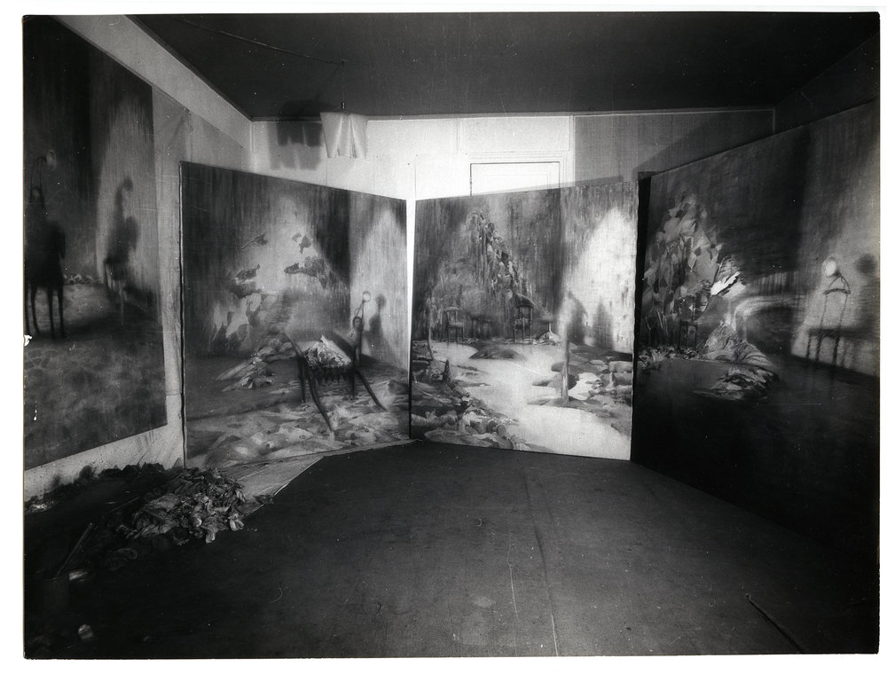 The Four Mountains in Paris Studio (1961)